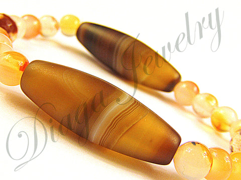 Coffee Agate Bracelet