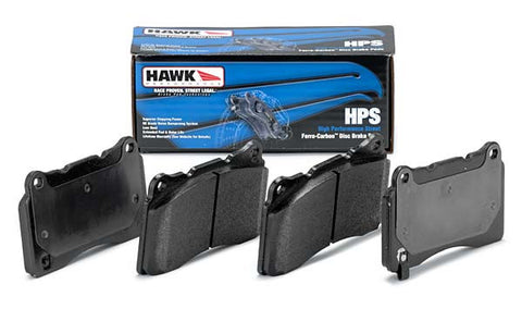 Hawk HPS Street brake pads (Performance Street) - Rear