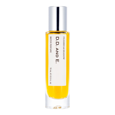 D.D. AND E. 15 ml / 0.5 oz water perfume