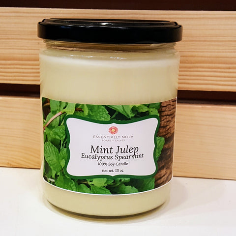 Mint Julep Candle-Candle-essentially NOLA-8 oz-essentially NOLA