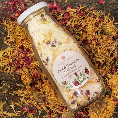 Rose & Calendula Milk Bath - essentially NOLA