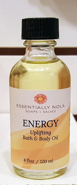 Body Oils-Skin Oils-essentially NOLA-4oz-Energy-essentially NOLA