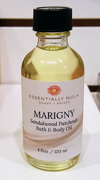 Body Oils-Skin Oils-essentially NOLA-4oz-Marigny-essentially NOLA