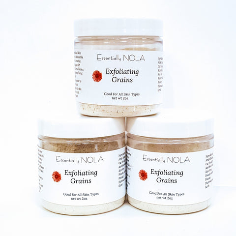 Azuki Exfoliating Grains-Beauty & Personal Care-essentially NOLA-essentially NOLA