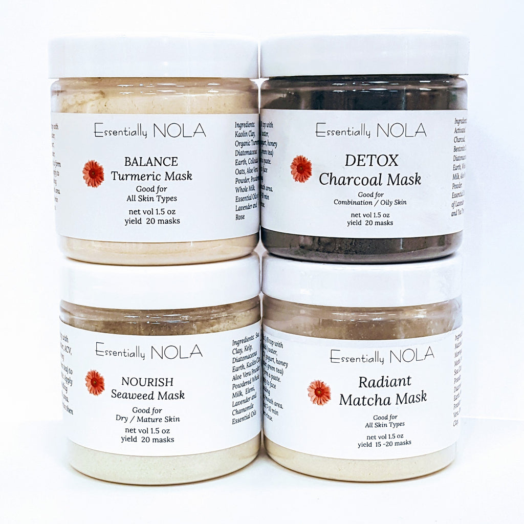 Clay Facial Masks - essentially NOLA