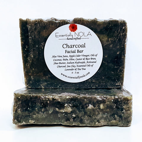 Charcoal & Tea Tree-Soap-essentially NOLA-essentially NOLA