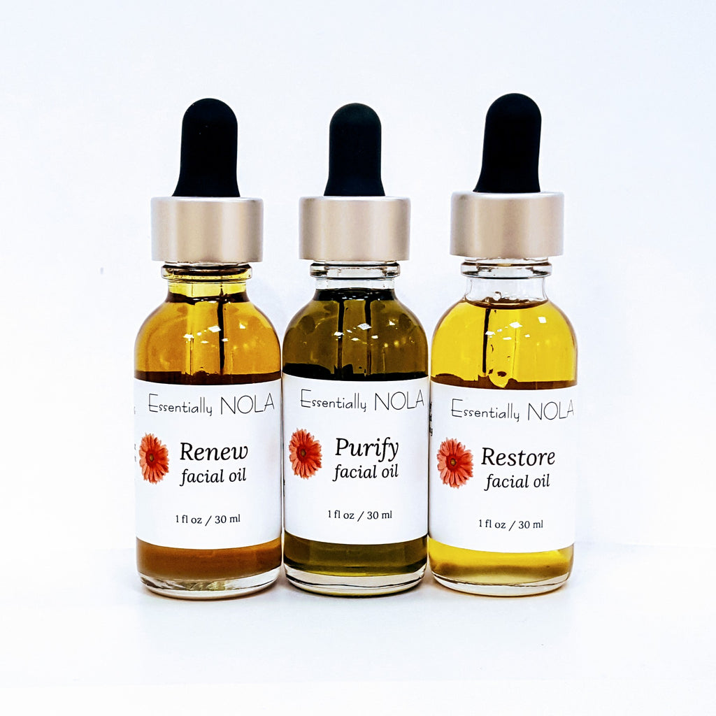 Natural Facial Oils