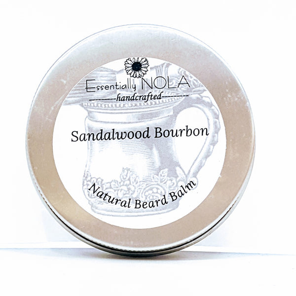 Natural Beard Balm / Pomade-Beauty & Personal Care-essentially NOLA-Sandalwood Bourbon-essentially NOLA
