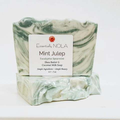 Mint Julep-Artisan Soap-essentially NOLA-essentially NOLA