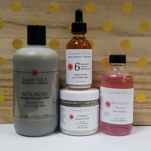 Nourish Skin Care Set-Dry Or Mature Skin
