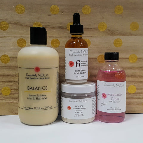 Balance Skin Care Set - Normal or Combination Skin