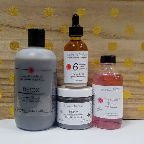 Detox Skin Care Set - Acne / Oily  Skin