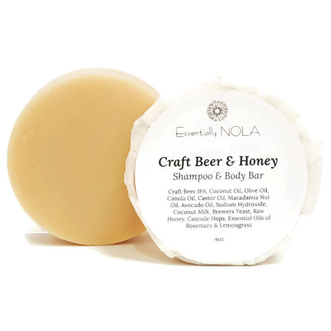 Beer & Honey Shampoo Bar-Shampoo-essentially NOLA-essentially NOLA