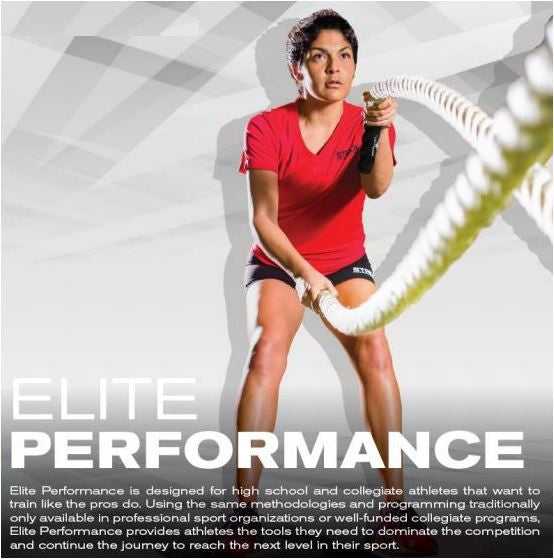 3) ELITE PERFORMANCE Monthly Membership (Ages 15 - 18): 1x/week (Tues) or 2x/week (Mon/Wed) or (Tues/Thurs)
