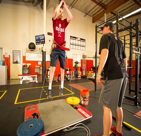 4) VERTICAL JUMP & EXPLOSIVENESS (Ages 13+):  9 week Summer program - 27 Sessions (Single Discounted Payment $499)