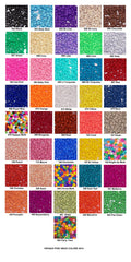 Pony Beads, Crow Beads, Opaque Colors Pkg. 1000, 6x9mm