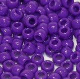 "Pony Beads, Barrel ""Crow"" Beads, 6 X 9mm, Opaque Colors Pkg 1000 - Beadery Products"