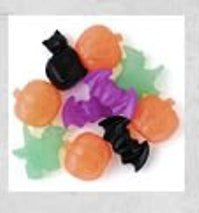 Halloween Novelty Pony Beads Multi 1/4 lb #114SV