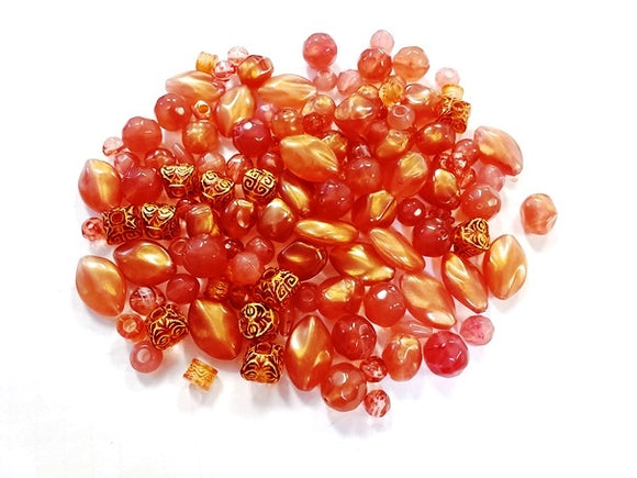 The Beadery Element Beads Cherry Quartz 1/4 lb (Sale) 1474-568