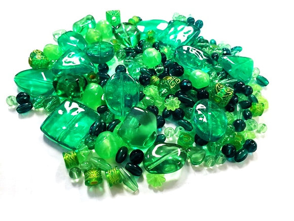The Beadery Element Beads Peridot 1/4 lb (Sale) 1476-653