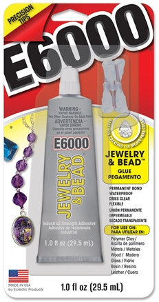 E6000 Jewelry & Bead Glue 1 ounce 242001