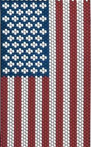 Beaded Banner Kit, American Glory #5190 - Beadery Products