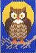 Beaded Banner Kit, Owl  #5858 - Beadery Products