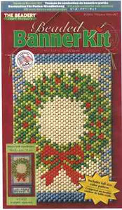 Beaded Banner Kit, Winter Wreath #5901
