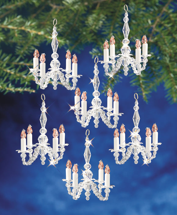 Beadery Holiday Ornament Kit, Christmas Chandeliers #5932