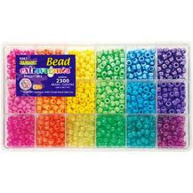 Bead Box, Bead Extravaganza, Bright Mix, Approx 2300 Beads 6262 - Beadery Products
