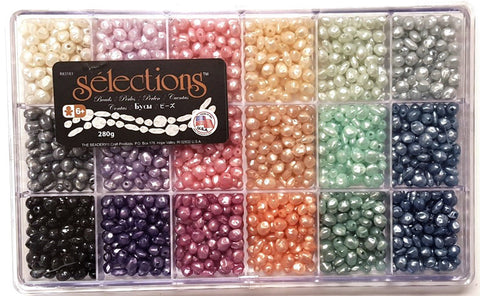 Bead Box, Selections Giant Pastel Pearl Beads 6289