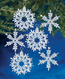 Beadery Holiday Ornament Kit Winter Ice #7470  (NEW)
