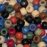 Beadery Pony Beads 6 X 9mm Frosted/Matte Colors 1000 Pieces 750V