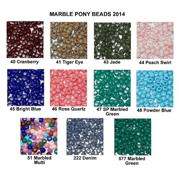 Pony Beads, Barrel