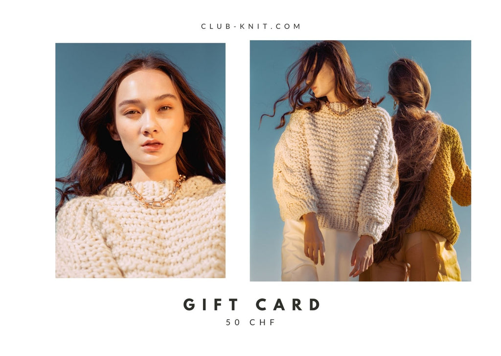 Gift Card - CLUB KNIT