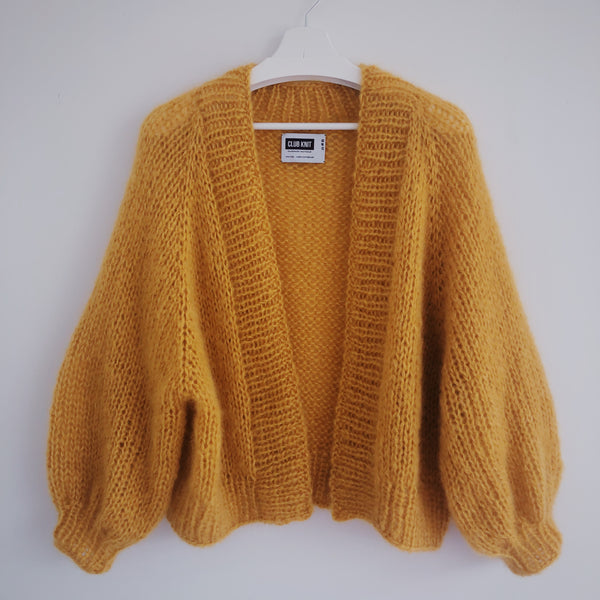 DIY x Alexa Cardigan - CLUB KNIT