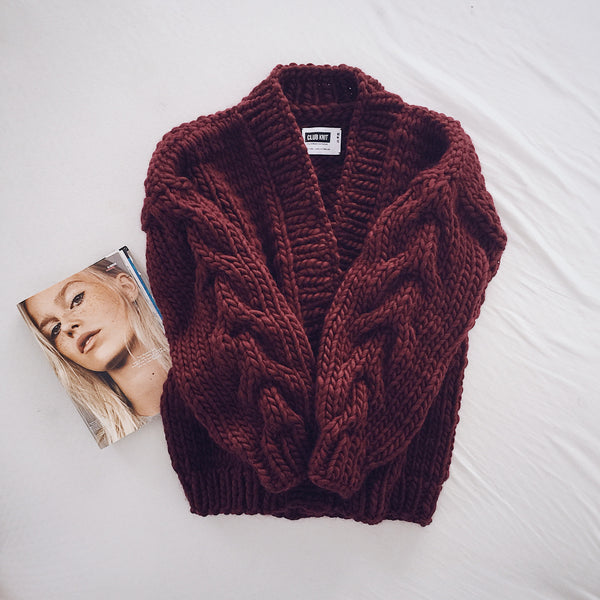 Daria Cardigan - CLUB KNIT