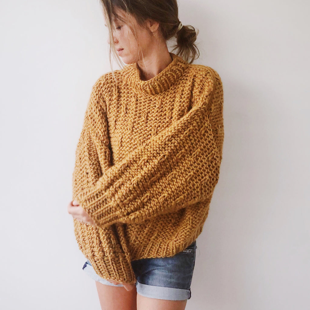 DIY x Gloria Jumper -  Merino wool - CLUB KNIT