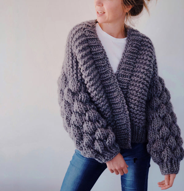 DIY x Livia Cardigan - CLUB KNIT
