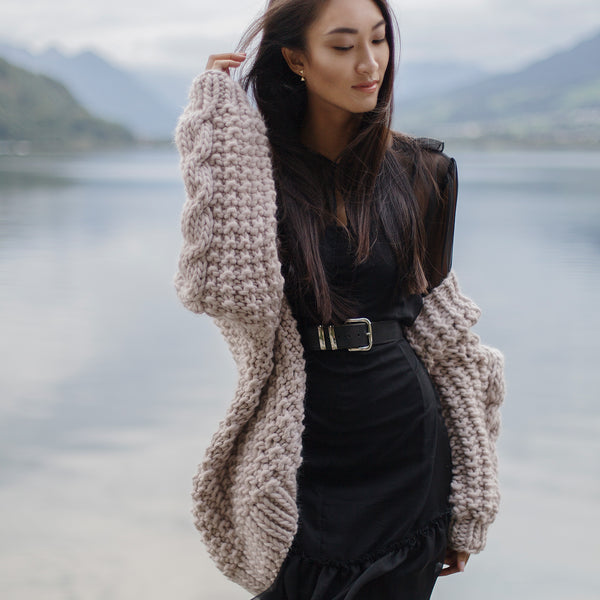 DIY x Nina Cardigan - CLUB KNIT