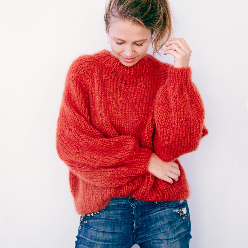 DIY x Sarah Jumper - CLUB KNIT