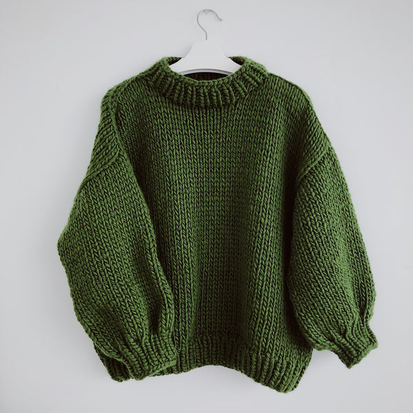 DIY x Camilla Jumper with extra wool - CLUB KNIT