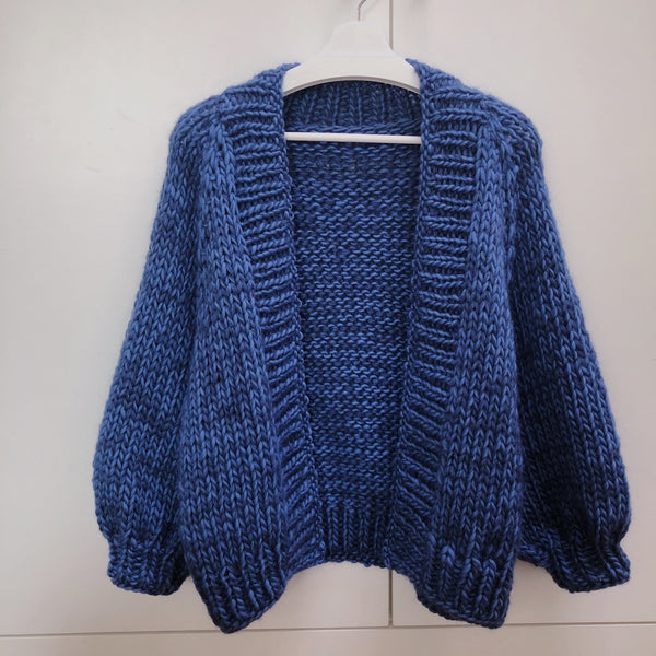 DIY x Chunky Alexa Cardigan - CLUB KNIT