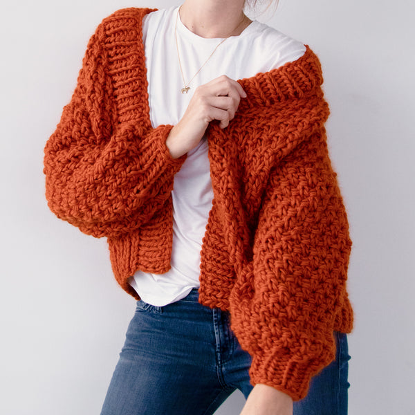 DIY x Renée Cardigan - CLUB KNIT