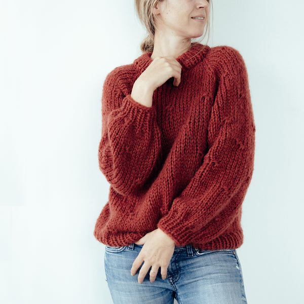 DIY x Sarah Jumper Woolly Winter Edition - CLUB KNIT