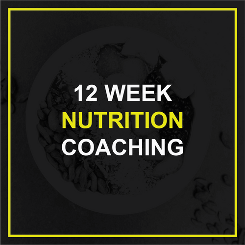 12 Week Nutrition Coaching