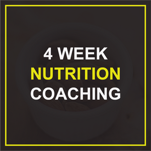 4 Week Nutrition Coaching