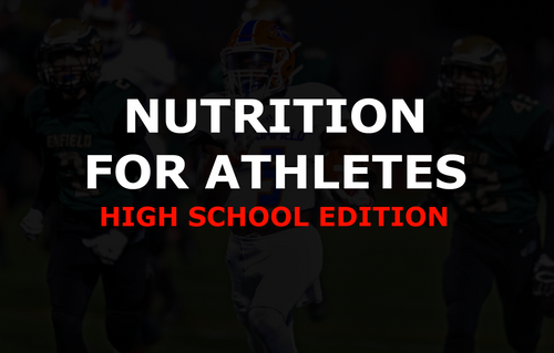 High School Athlete Nutrition Package