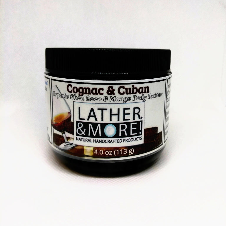Cognac and Cuban Men's Body Butter