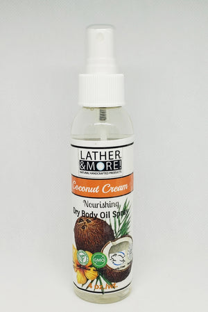 Coconut Cream Dry Body Oil